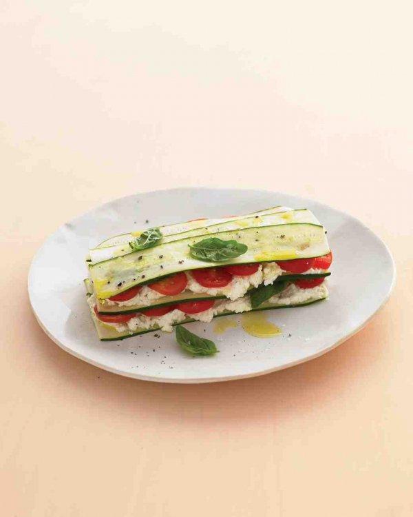 Zucchini Lasagna with Farmer Cheese
