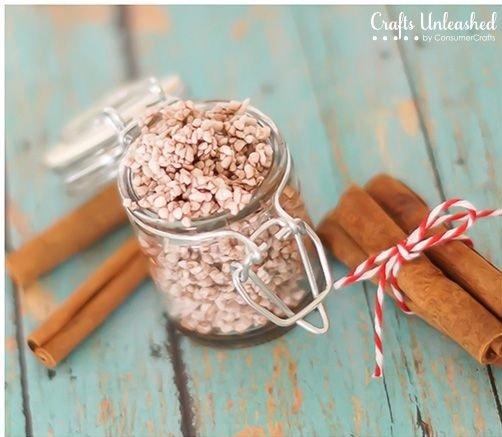 Cinnamon Sugar Foot Scrub