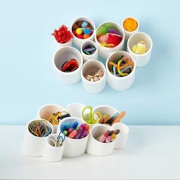 Cubby Cups Desk Organizer