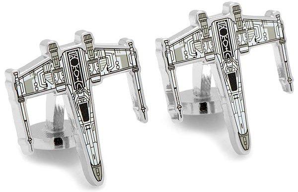 X-Wing Starfighter Blueprint Cufflinks