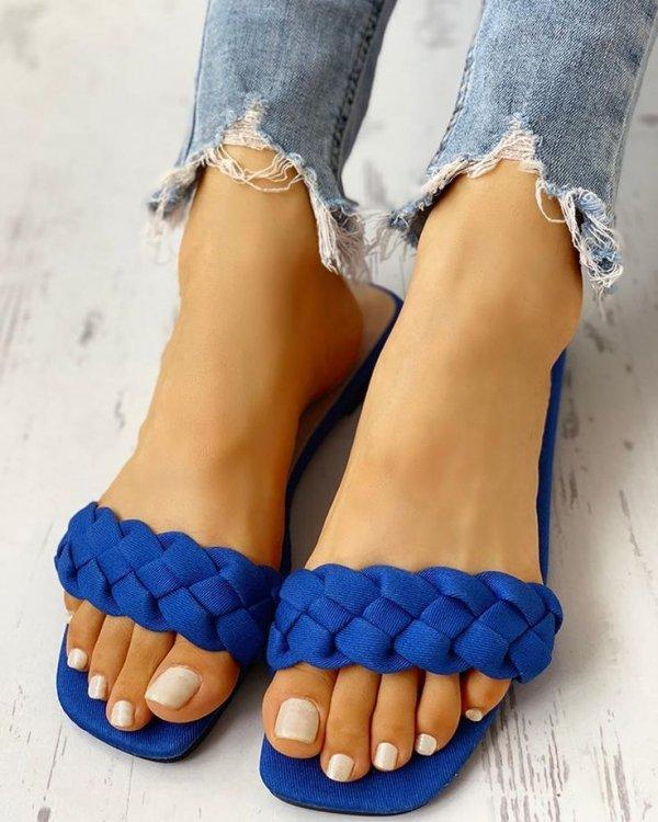 Footwear, Toe, Blue, Sandal, Leg,