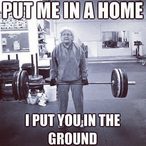 Go, Granny!