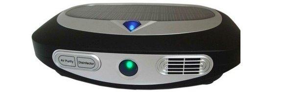The Solar Powered Air Purifier