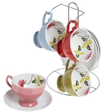 Floral to Ceiling Tea Set