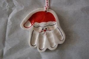 Clay Santa