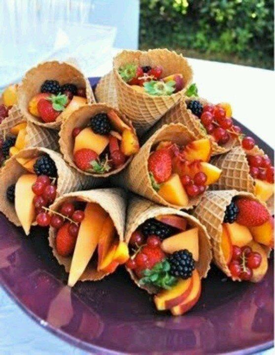 Inside Ice Cream Cones