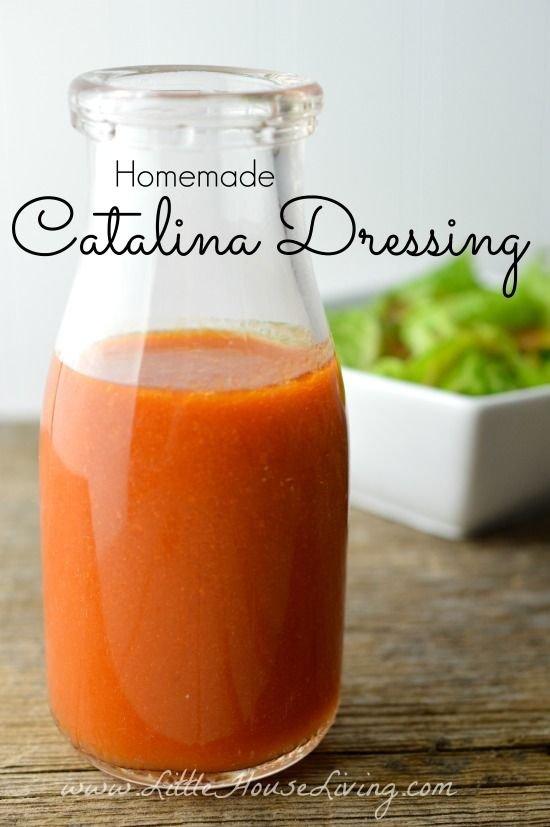 Homemade Catalina Salad Dressing