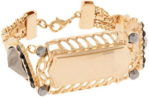ASOS Vintage Style Identity Bracelet