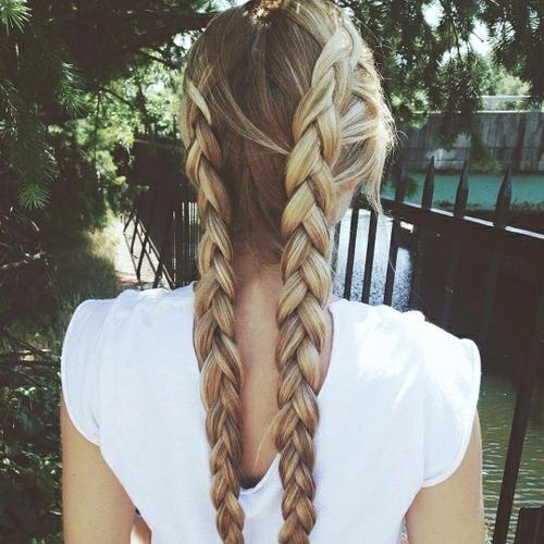 hair,hairstyle,braid,long hair,brown hair,