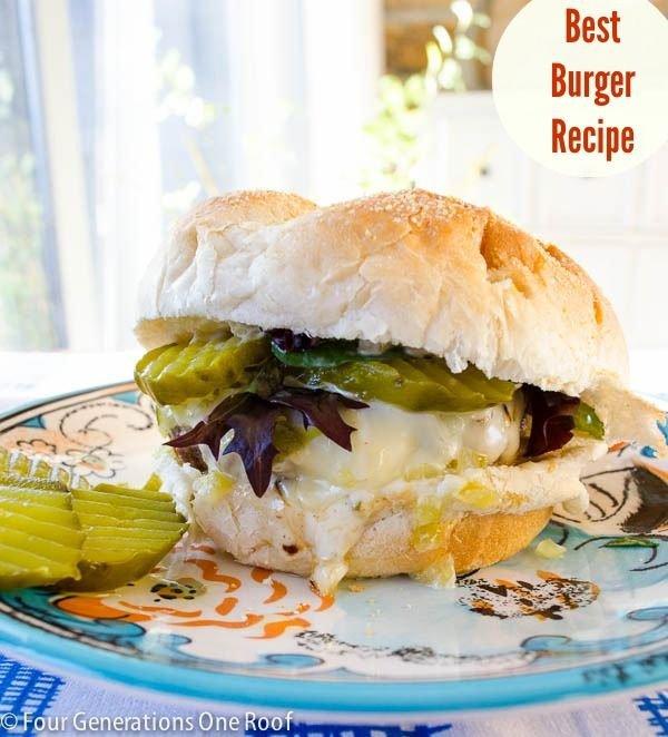 Stovetop Gourmet Hamburgers
