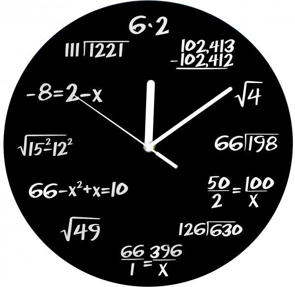 clock, font, diagram, decor, line,