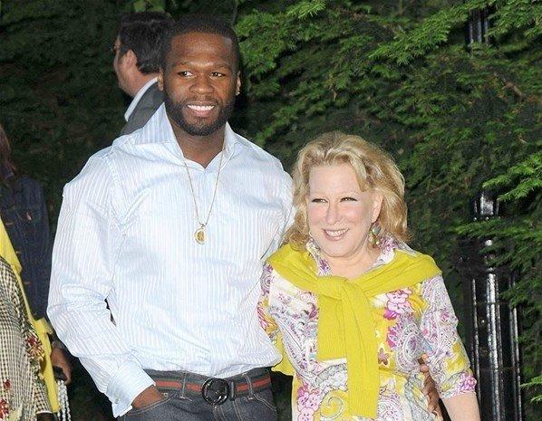 50 Cent & Bette Midler