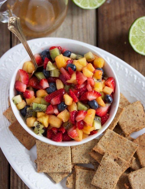 Honey Lime Fruit Salsa
