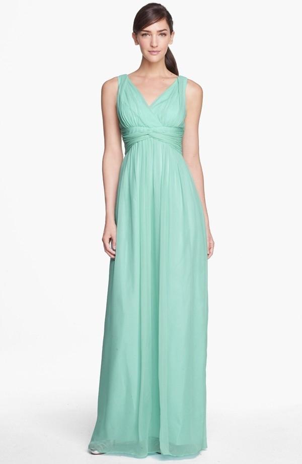 Twist-Waist Mother of the Bride Dress...
