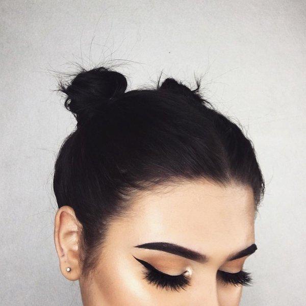 hair, face, eyebrow, black, white,
