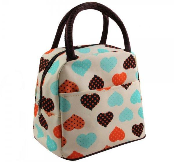 Baloray Cute Love Heart Lunch Bag