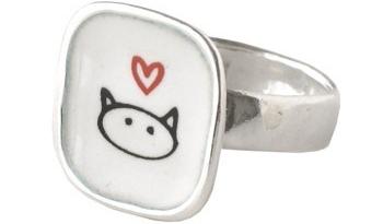 Kitty Love Ring