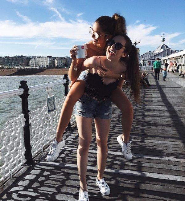 Brighton Pier, clothing, vacation, sea, beauty,