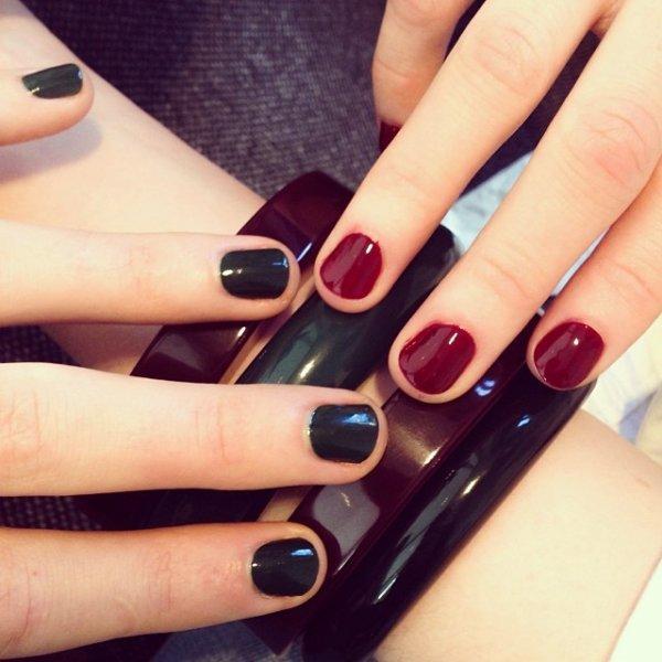nail, manicure, nail care, cosmetics, magenta,