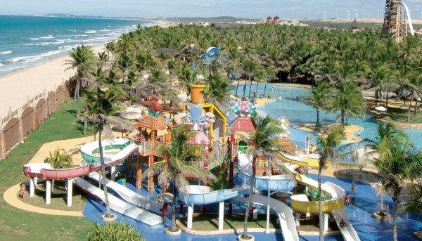 Beach Park In Fortaleza Brazil