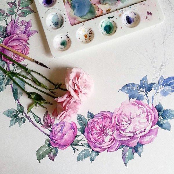 pink, flower, purple, lilac, flower bouquet,