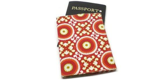 Red Passport Cover