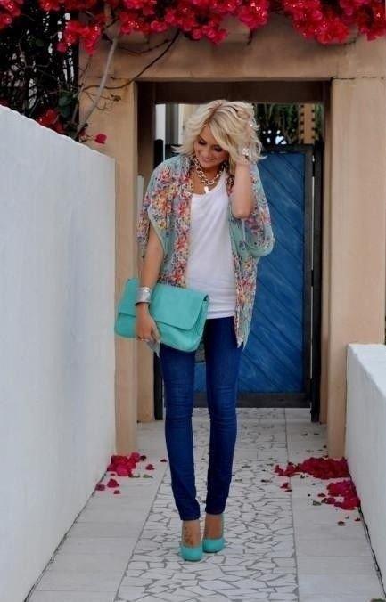 Fun Summery Aqua Color