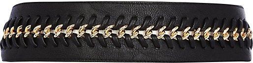 River Island Black Plaited Chain Waist Belt
