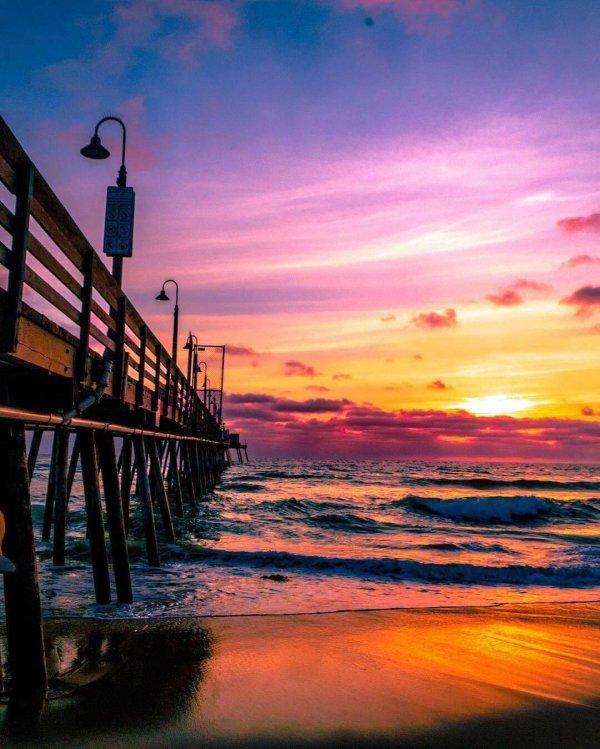 sky, sunset, sunrise, horizon, afterglow,