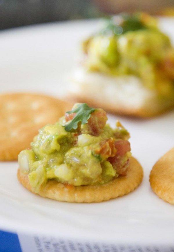 Guacamole + Whole-grain Crackers
