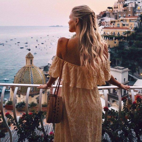 vacation, long hair, fur, girl, socialite,