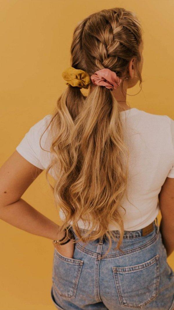Hair, Hairstyle, Long hair, Hair accessory, Hair coloring,
