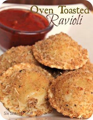 Oven Toasted Ravioli