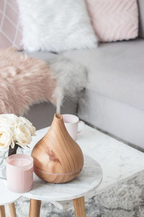 Pink, Furniture, Room, Table, Interior design,