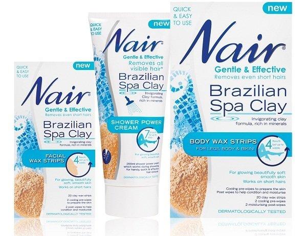 Nair Brazillian Spa Clay Wax