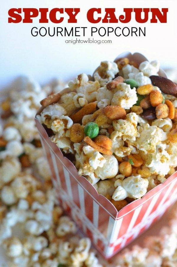 Spicy Cajun Gourmet Popcorn
