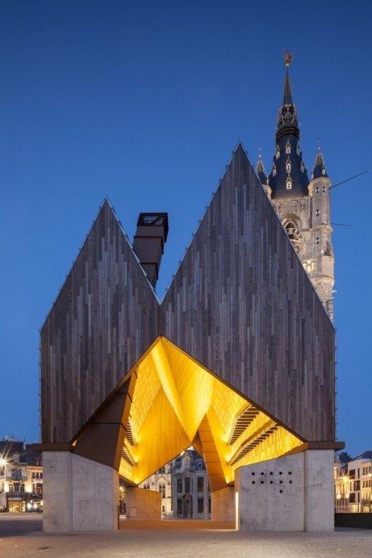 Market Hall, Ghent, Belgium