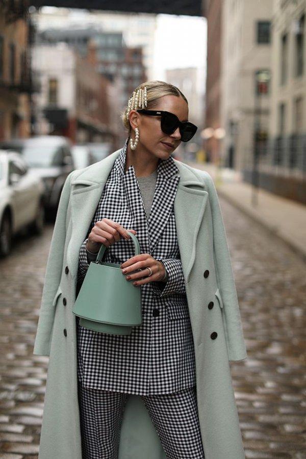 Clothing, Street fashion, White, Fashion, Polka dot,