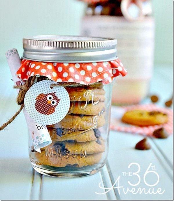 Mason Jar Cookie Craft