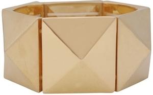 Forever21 Pyramid Stud Stretch Bracelet