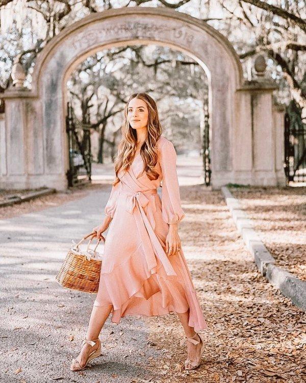 Pink, Clothing, Photograph, Dress, Shoulder,