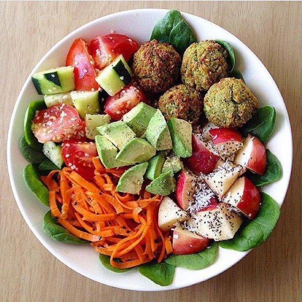 food, dish, salad, produce, cuisine,
