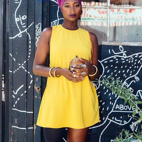 yellow, clothing, dress, fashion, spring,