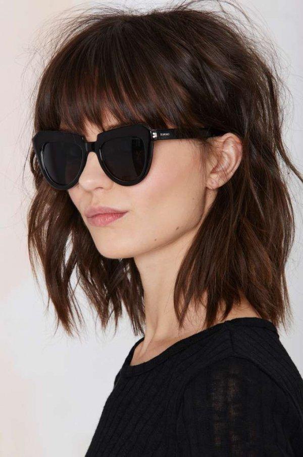 eyewear,hair,face,black,glasses,