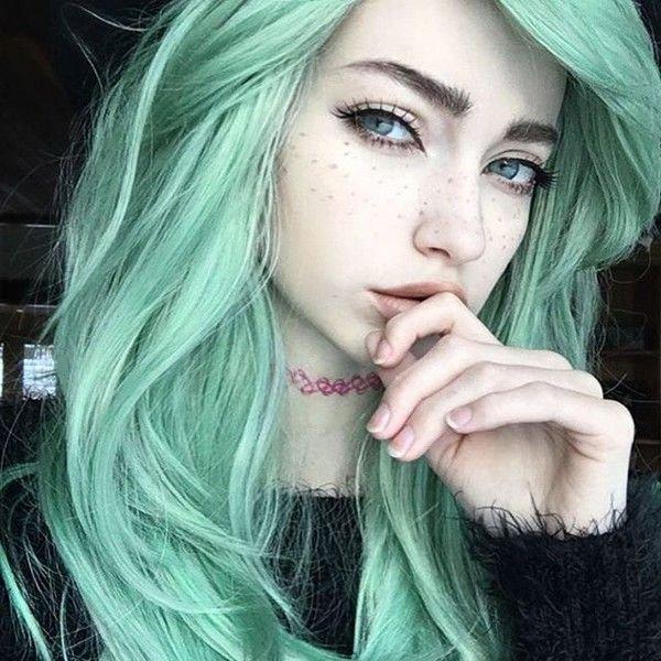 color, hair, face, green, blue,