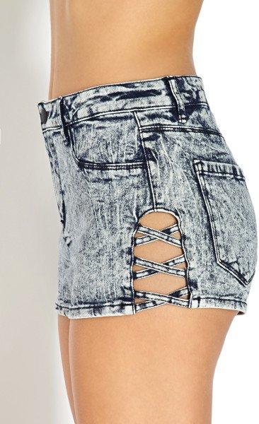 Cutout Shorts
