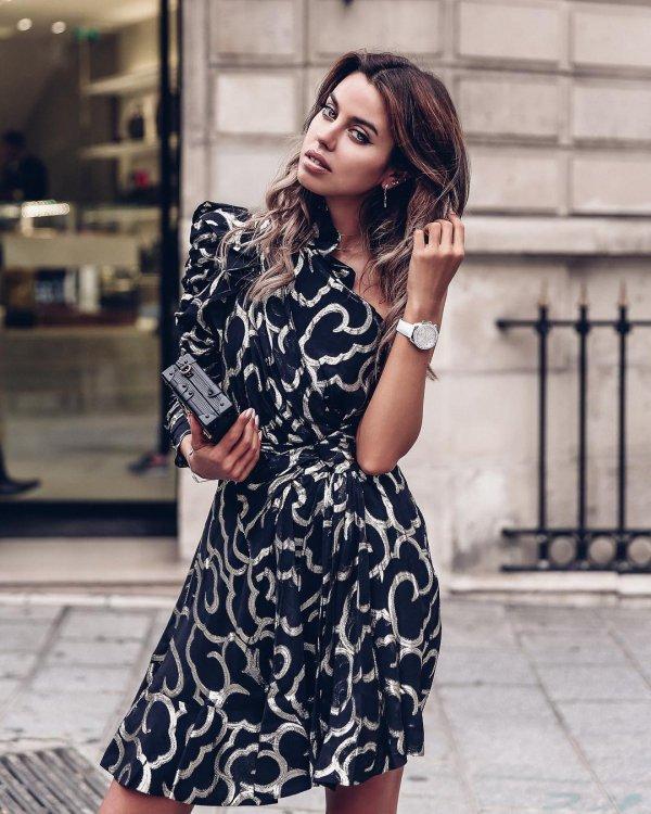 clothing, fashion model, dress, shoulder, fashion,