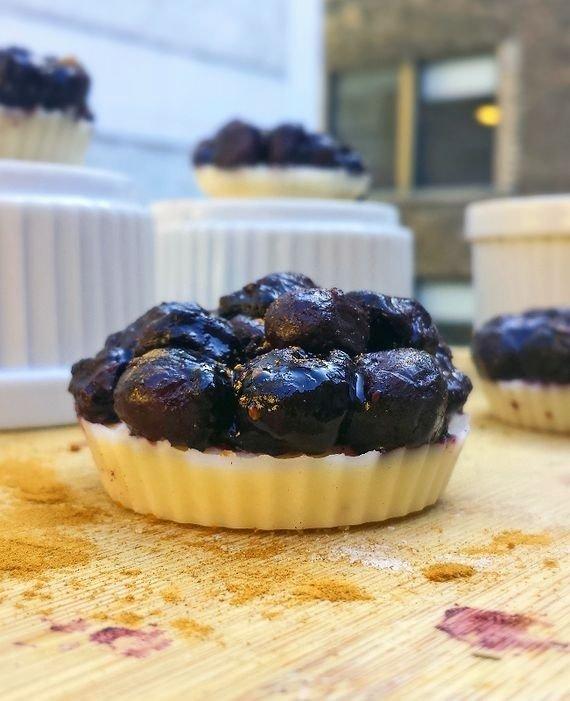 No-Bake Blueberry Pie Energy Bites