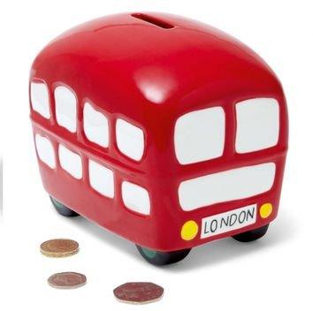 London Bus Money Bank