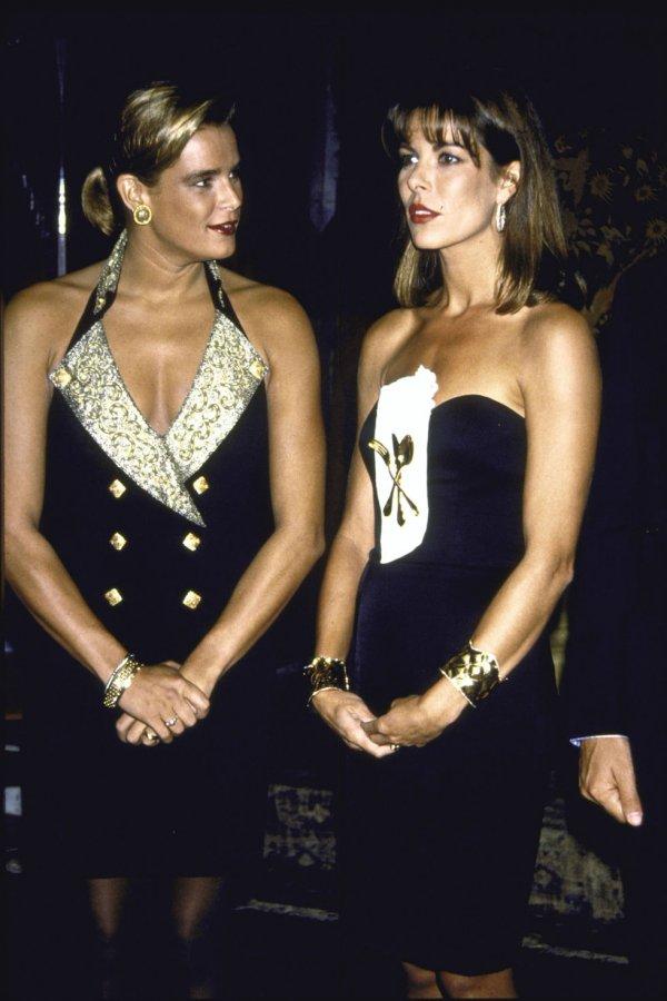 Princesses Caroline and Stephanie of Monaco